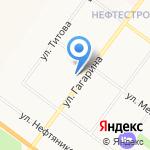 Комплексный центр социального обслуживания населения Красноперекопского района на карте Ярославля