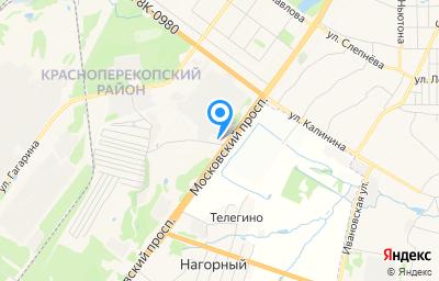 Местоположение на карте пункта техосмотра по адресу г Ярославль, пр-кт Московский, зд 110