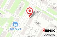 Схема проезда до компании Региональные Медиа в Ярославле