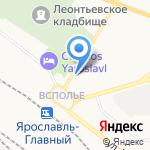 Дружба на карте Ярославля