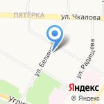Сфера на карте Ярославля