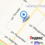 В 12 на карте Ярославля