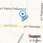 Управление Министерства промышленности и торговли РФ по Верхне-Волжскому району на карте Ярославля
