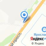 Автофирма Светлана на карте Ярославля
