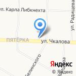 Юлмарт на карте Ярославля