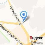 AUTOковрик на карте Ярославля
