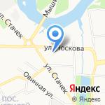 Ярославская похоронная служба на карте Ярославля