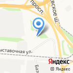 Кузов-центр на карте Ярославля