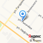 Альбина на карте Ярославля