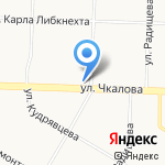 Камелия на карте Ярославля
