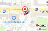 Схема проезда до компании Евросеть в Ярославле