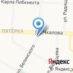 Петушок на карте Ярославля