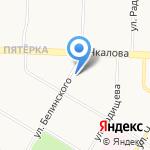 Славянский на карте Ярославля