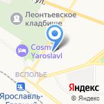 Городской центр здоровья на карте Ярославля
