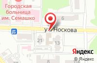 Схема проезда до компании Русский СамоВАР в Ярославле