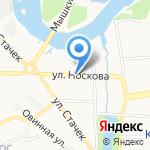 Русский Дом на карте Ярославля