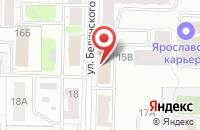 Схема проезда до компании Intera.pro в Ярославле