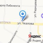 Армада на карте Ярославля