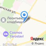 Стоматологическая поликлиника на карте Ярославля