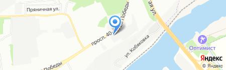 Добрый домъ на карте Ростова-на-Дону