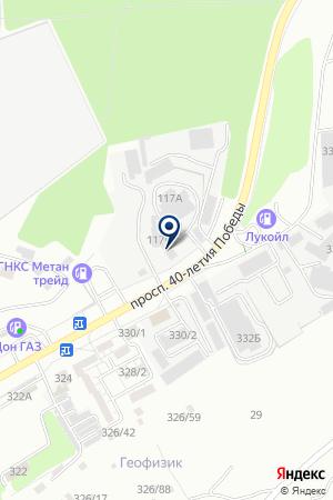МАГАЗИН ЦЕНТРОБУВЬ на карте Шахт