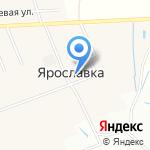 Весна на карте Ярославля