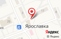 Схема проезда до компании Весна в Ярославке