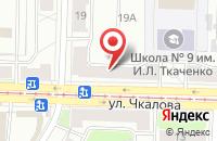 Схема проезда до компании Столовая №9 в Ярославле