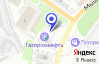 Схема проезда до компании АЗС № 4 в Ярославле
