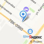 Кедр на карте Ярославля