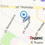 Межшкольный учебный центр Кировского и Ленинского районов на карте Ярославля