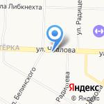 Эконом класс на карте Ярославля