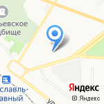 Детский сад №90 на карте Ярославля