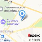 Детский сад №170 на карте Ярославля