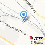 Городъ на карте Ярославля