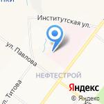 Ярославская областная клиническая туберкулезная больница на карте Ярославля