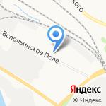 Авангард на карте Ярославля