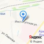 Русский стиль на карте Ярославля