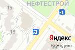 Схема проезда до компании Киоск по продаже цветов в Ярославле