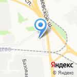 Теон на карте Ярославля