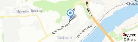 Фейерверк Волшебства на карте Ростова-на-Дону
