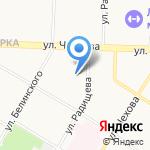 Фонд социального страхования РФ на карте Ярославля