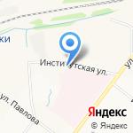 ТрансЛайн на карте Ярославля