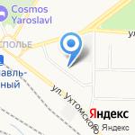 Отделение Пенсионного Фонда РФ по Ярославской области на карте Ярославля