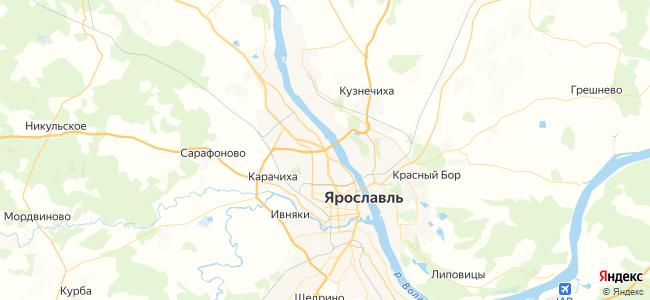 9 автобус в Ярославле