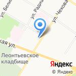 Дом ночного пребывания и занятий для лиц без определенного места жительства г. Ярославля на карте Ярославля