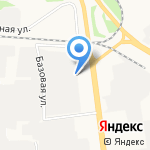 ПЭК на карте Ярославля