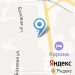 Дарвис на карте Ярославля