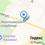 Пекин на карте Ярославля