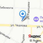 Средняя школа № 9 им. Ивана Ткаченко на карте Ярославля